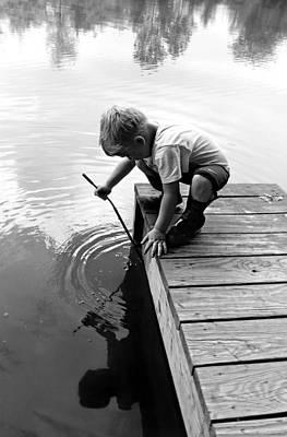 Photograph - Fishin' by Brenda Conrad