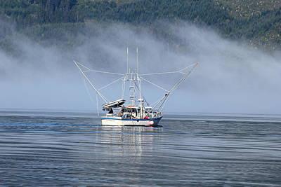 Photograph - Fishing Alaska by Trent Mallett