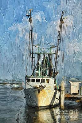 Osprey Painting - Fishing Anyone by Deborah Benoit