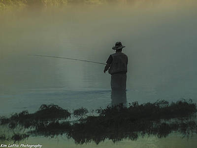 Photograph - Fishing On The White River  by Kim Loftis