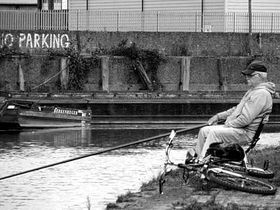 Photograph - Fishing At Grand Union Canal by Judi Saunders