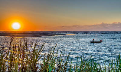Photograph - Fishing At Pawleys by Mike Covington