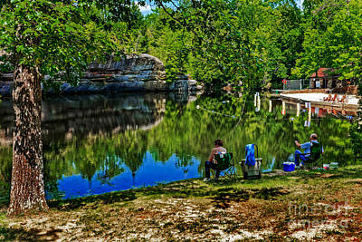 Photograph - Fishing At Pickett by Paul Mashburn
