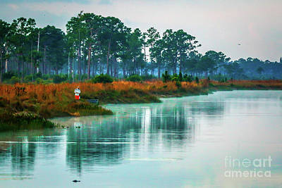 Photograph - Fishing At Pine Glades by Tom Claud