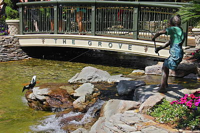 Photograph - Fishing At The Grove by Denise Mazzocco