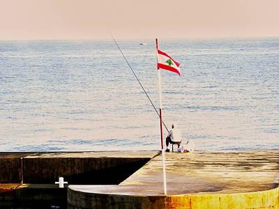 Photograph - Fishing Beirut 2  by Funkpix Photo Hunter
