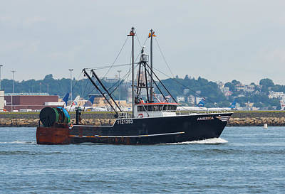 Photograph - Fishing Boat America by Brian MacLean