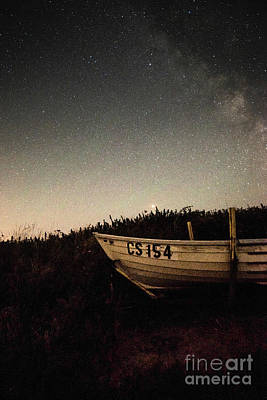 Photograph - Fishing Boat And Stars by Clayton Bastiani