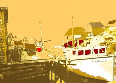 Photograph - Fishing Boat At The Dock by Ian  MacDonald
