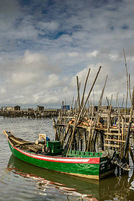 Fishing Boat At The Dock II Original by Marco Oliveira