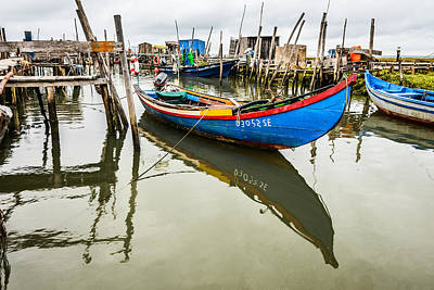 Fishing Boat At The Dock Original by Marco Oliveira