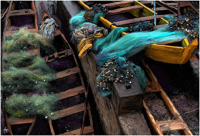 Photograph - Fishing Boat Colors by Wayne King