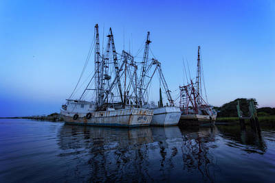 Photograph - Fishing Boat Dawn by Alan Raasch