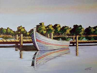 Painting - Fishing Boat by Deon West