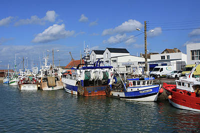 Photograph - Fishing Boat Harbour by Aidan Moran