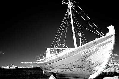 Photograph - Fishing Boat Infrared by John Rizzuto