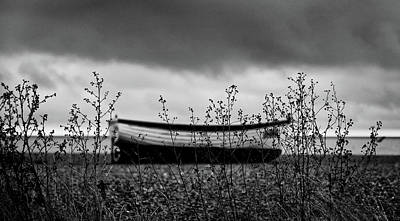Photograph - Fishing Boat On Aldeburgh Beach #6 by David Calvert