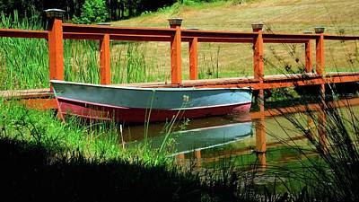 Photograph - Fishing Boat Pond by Jerry Sodorff