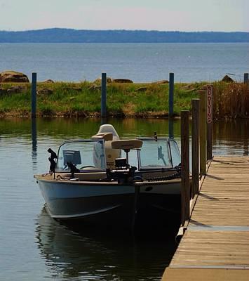 Photograph - Fishing Boat by Ramona Whiteaker