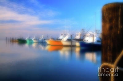 Photograph - Fishing Boats At Oregon Inlet Outer Banks by Dan Carmichael