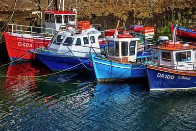 Photograph - Fishing Boats At The Coast by Debra and Dave Vanderlaan