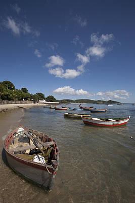 Bardot Photograph - Fishing Boats Buzios 2 by Jose Olimpio