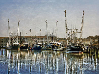 Photograph - Fishing Boats by Dawn Gari