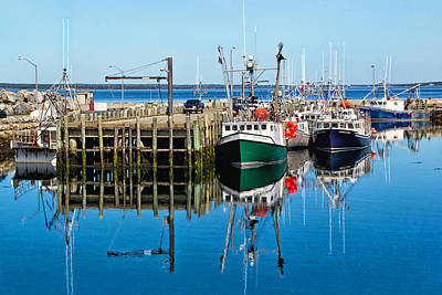 Photograph - Fishing Boats In Clarks Harbour by Carolyn Derstine