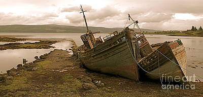 Photograph - Fishing Boats Isle Of Mull II by Louise Fahy