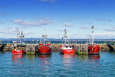 Photograph - Fishing Boats by Keith Hawley