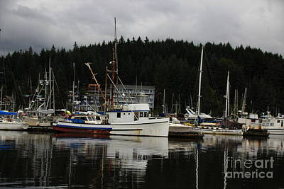 Photograph - Fishing Boats by Lennie Malvone