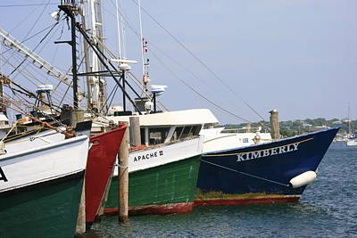 Photograph - Fishing Boats  Montauk by Christopher Kirby