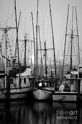 Photograph - Fishing Boats Moored At Fisherman's Terminal by Jim Corwin