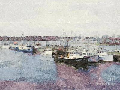 Photograph - Fishing Boats Of Portsmouth Nh by Marcia Lee Jones