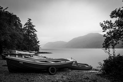 Loch Ness Photograph - Fishery by Chris Dale