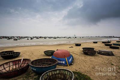 Photograph - Fishing Boats by Sandy Molinaro