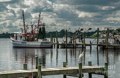 Photograph - Fishing Boats by Scott Hervieux