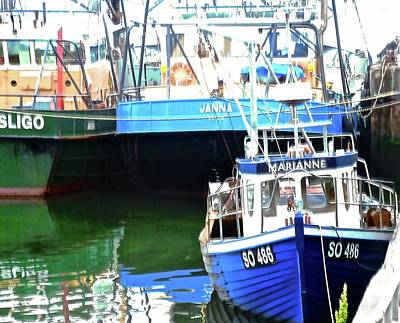 Photograph - Fishing Boats by Stephanie Moore