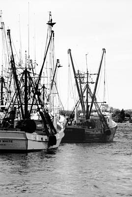 Photograph - Fishing Boats by Steve Karol
