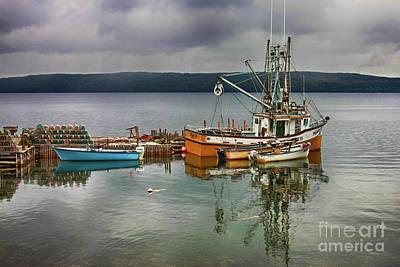 Photograph - Fishing Boats by Tatiana Travelways