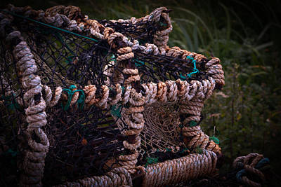 Photograph - Fishing Cage by Avril Christophe