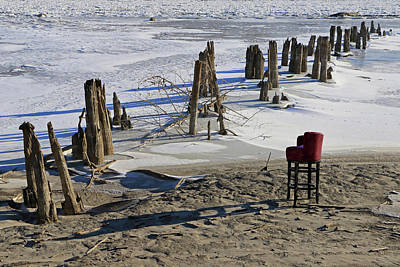 Photograph - Fishing Chair by Christopher McKenzie