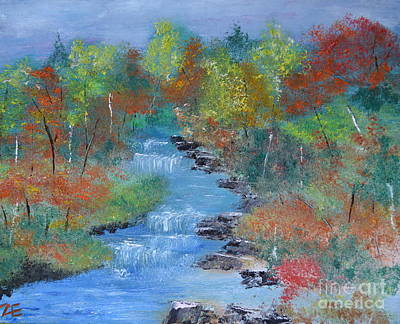 Fishing Creek Art Print by Denise Tomasura