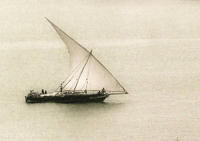 Fishing Dhow Art Print