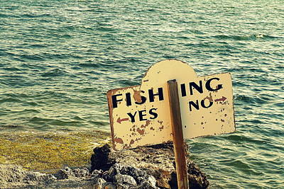 Photograph - Fishing Directions by Laurie Perry
