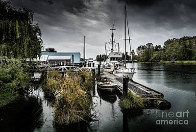 Photograph - Fishing Dock by M G Whittingham