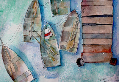 Painting - Fishing Dock by Sean Parnell