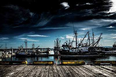 Photograph - Fishing Fleet by M G Whittingham