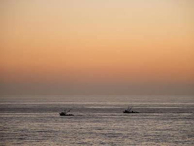 Photograph - Fishing For A Sunset by Derek Dean