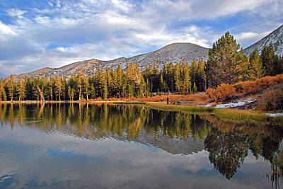 Photograph - Fishing For Reflections In The High Sierra by Lynn Bauer